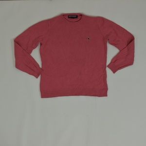 vineyard Vines Regular M Pink   Sweater Cotton Sol